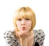 Beijo do Valentim Imagens de Stock