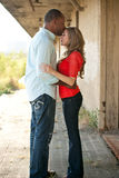Beijo dos pares Imagens de Stock Royalty Free