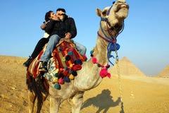 Beijo em Egito Imagens de Stock