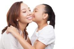 Beijo encantador Foto de Stock