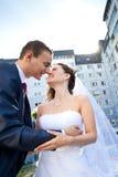 Beijo pela casa fotos de stock royalty free