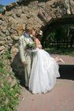Beijo Wedding imagem de stock royalty free