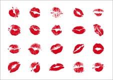 Beijos ilustração do vetor