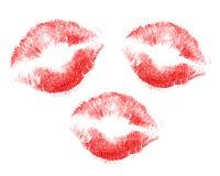 Beijos Imagens de Stock