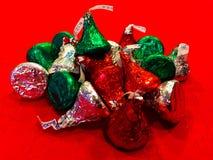 Beijos de Hershey do feriado Foto de Stock
