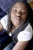 Beijos para a câmera Foto de Stock Royalty Free