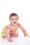 Beijos pequenos da criança Fotografia de Stock