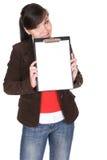 Beiläufige Frau lizenzfreie stockfotografie