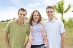 Beiläufige Freunde Lizenzfreies Stockfoto