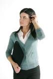 Beiläufige Geschäftsfrau lizenzfreies stockbild