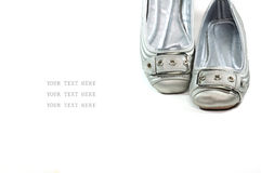 Beiläufige Schuhe der Frau Stockfotografie