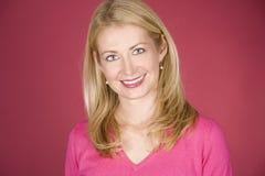 Beiläufiges blondes Lizenzfreies Stockfoto