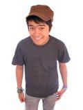 Beiläufiges Hochschulalters-junger Mann Lizenzfreie Stockfotos