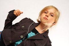 Beiläufiges Mädchen Lizenzfreie Stockfotografie