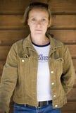 Beiläufiges Portrait der Frau Lizenzfreies Stockbild