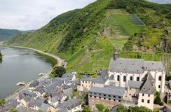Beilstein ... the best place on the Moselle River (Mosel). Royalty Free Stock Photo