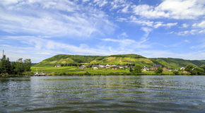Beilstein at Mosel River,Germany Royalty Free Stock Photo