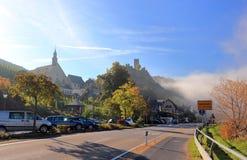 Beilstein najlepszy miejsce na Moselle rzece Mosel Palatinate, Niemcy obrazy royalty free