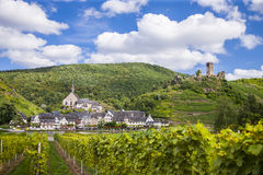 Beilstein, romantisch oud dorp Royalty-vrije Stock Foto's