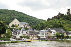 Beilstein town and Metternich Castle, Germany Stock Image