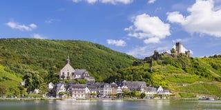 Beilstein, vila antiga romântica Fotografia de Stock Royalty Free