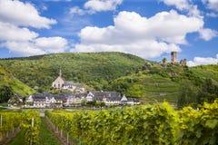 Beilstein, vila antiga romântica Fotos de Stock Royalty Free