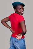 Beiläufiger Afrikaner Stockbilder