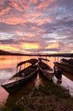 Beilve de deux bateaux photographie stock libre de droits