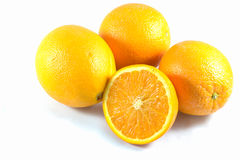 Beinahe Orange Stockfoto
