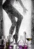 Beine eines schönen Mädchens Stockbilder