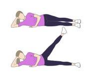 Beinerhöhungen Stockbild