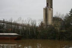 River Transportation in Alabama 2019 royalty free stock photo