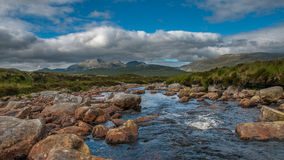 Beinn Dearg Hills Stock Photography