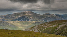 Beinn Dearg in NW Scotland Stock Images