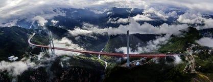 Beipanjiang-Brücke lizenzfreies stockfoto