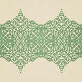 Beira barroco do vetor no estilo vitoriano. Fotos de Stock Royalty Free
