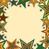 Beira bold(realce) das estrelas Foto de Stock Royalty Free