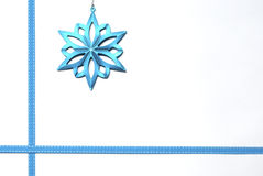 Beira da estrela do Natal Fotos de Stock Royalty Free