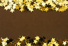Beira da estrela do ouro imagens de stock royalty free