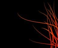 Beira da flama ilustração stock