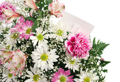 Beira da flor horizontal Imagens de Stock Royalty Free