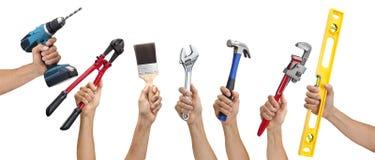 Beira da mão das ferramentas