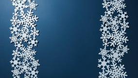 Beira de flocos de neve do Natal Imagens de Stock