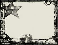 Beira de Grunge Fotos de Stock