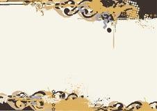 Beira de Grunge. ilustração royalty free