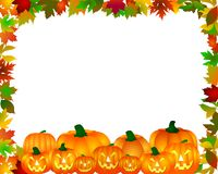 Beira de Halloween Fotos de Stock