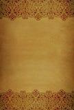 Beira de papel velha Fotos de Stock
