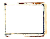 Beira de transferência do Polaroid Imagem de Stock Royalty Free
