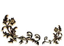 Beira decorativa 3D Imagem de Stock