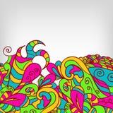Beira decorativa do elemento Cartão abstrato eps10 Imagem de Stock Royalty Free